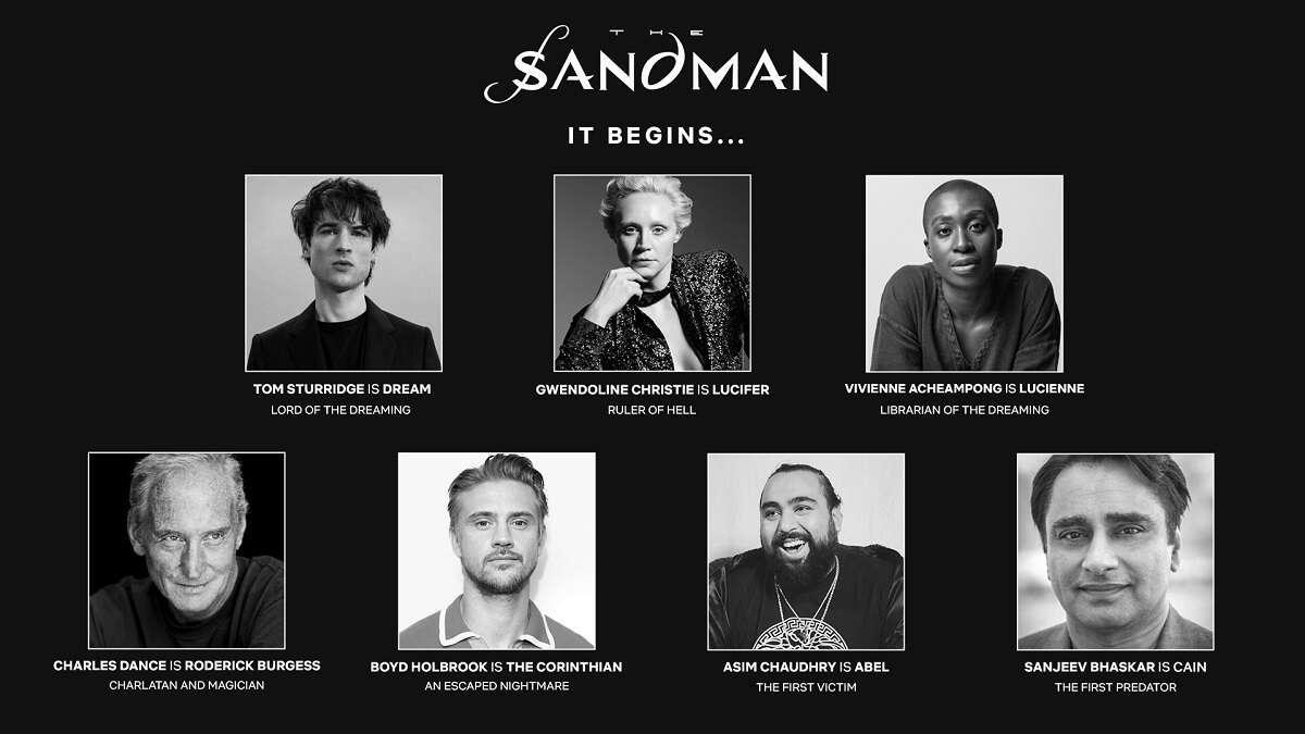 Sandman - Netflix przedstawił obsadę serialu