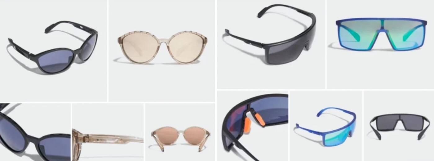 Nowe okulary Adidas Sport  z technologią Kolor Up