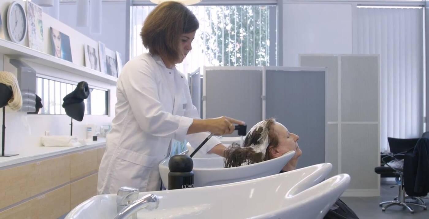 oszczędność wody podczas mycia włosów, Loreal Water Saver, Water Saver,