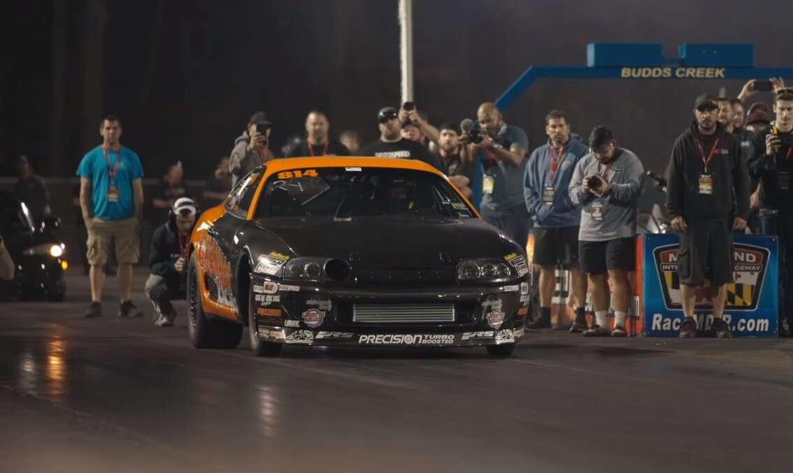 Nowy rekord najszybszej Supry. Sprint do 100 km/h w 1 sekundę