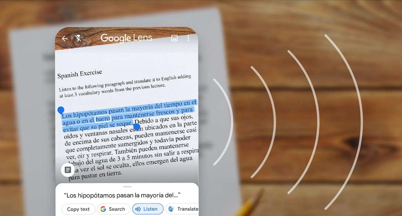 Obiektyw Google przetłumaczy tekst bez połączenia z siecią