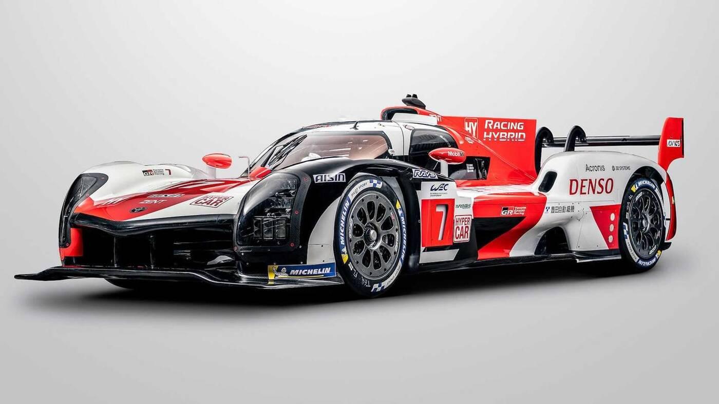 Oto hipersamochód Toyota GR010 Le Mans