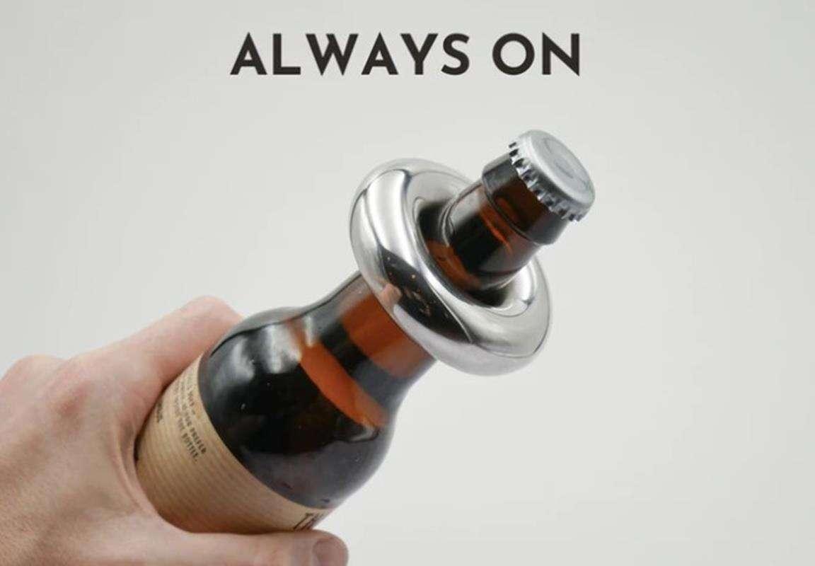 Oto nowoczesny otwieracz butelek za ponad stówę