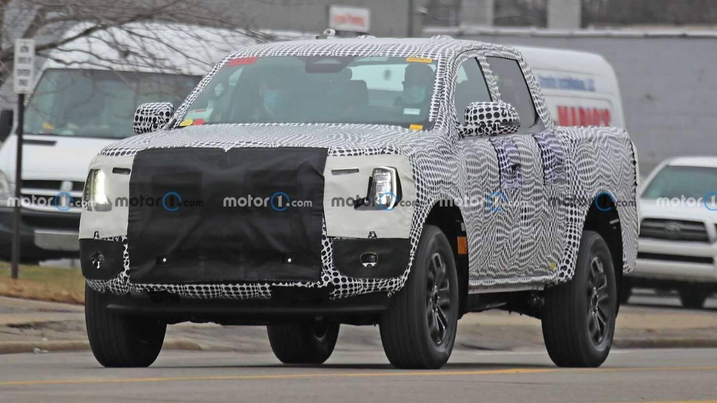 Pierwsze zdjęcia Forda Rangera nowej generacji