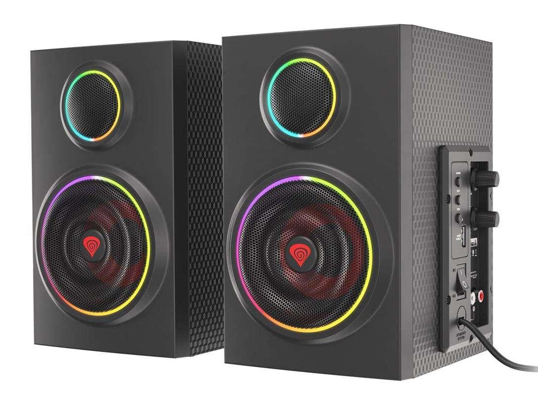 Podświetlane głośniki Genesis Helium 300BT już dostępne