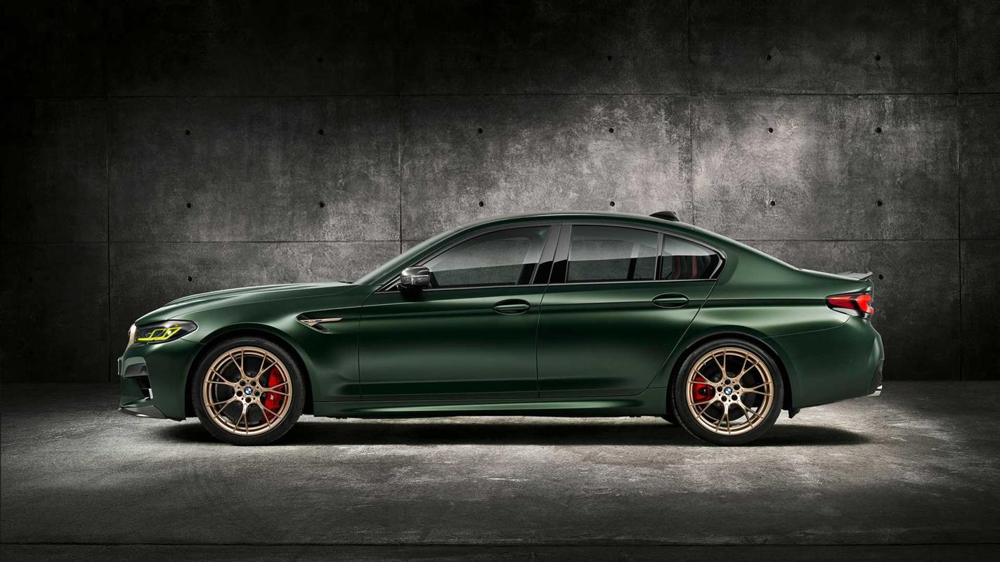 Poznajcie nowe BMW M5 CS 2022. To najmocniejsze BMW M w historii