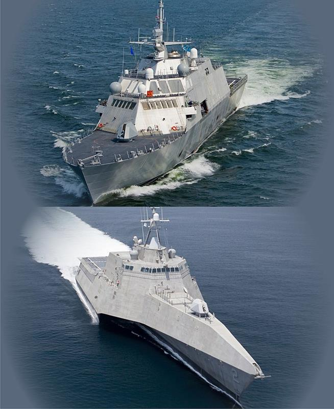 Problem nowych okrętów LCS Marynarki USA