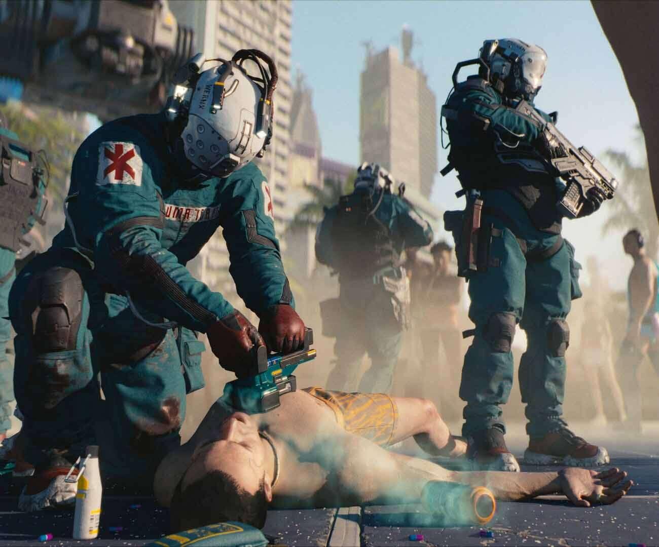 produkcja cyberpunk 2077
