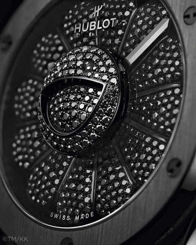 Radosny kwiat artysty ozdobił nowy limitowany zegarek Hublot