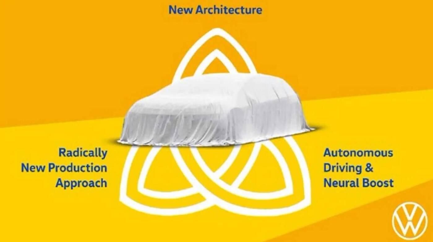 Samochód Volkswagen Trinity choć rewolucyjny, ma też być tani