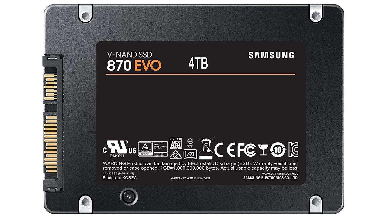 specyfikacja Samsung 870 EVO