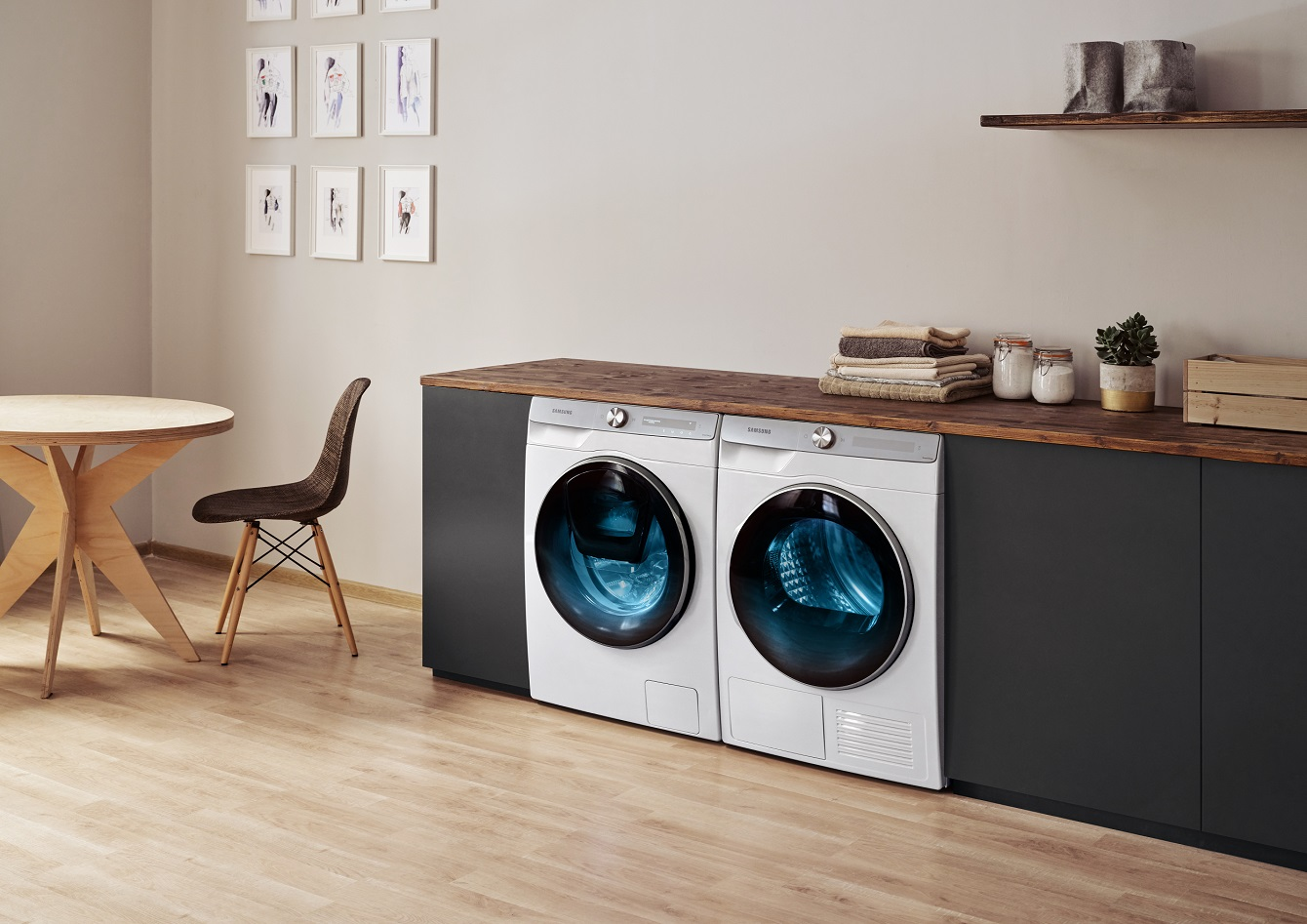 Samsung rozdaje smartfony za zakup pralki i suszarki