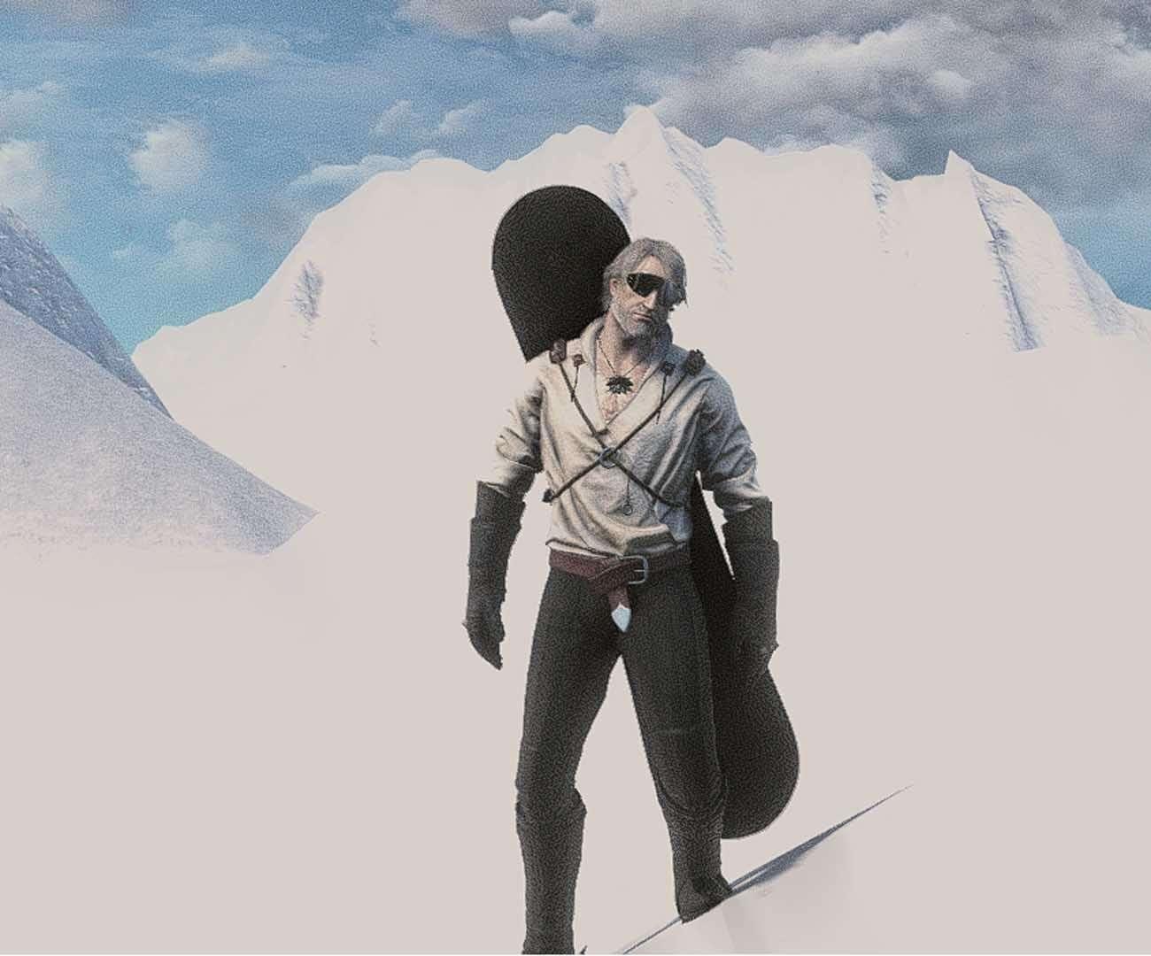 snowboard, wiedźmin 3