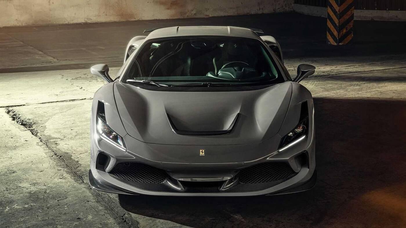 Spójrzcie na podkręcone Ferrari F8 Tributo przez Novitec