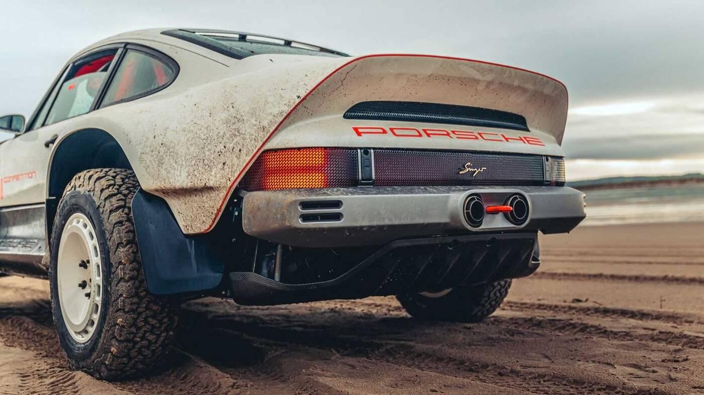 Spójrzcie na Porsche 911 Safari od Singera