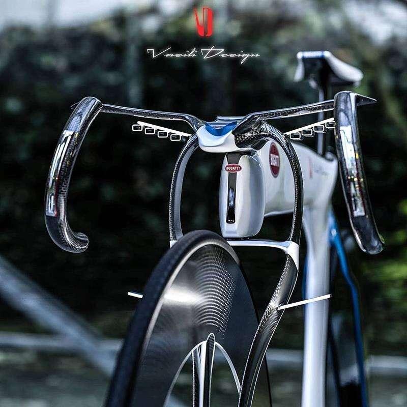 Spójrzmy na elektryczny rower Bugatti Chiron, którego i tak nie kupimy