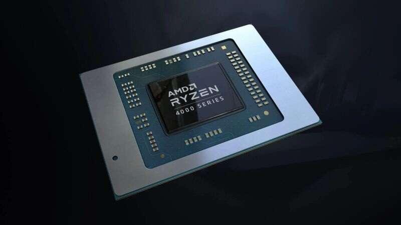 Struktura procesora Ryzen 5000 Cezanne, render Ryzen 5000 Cezanne, wygląd Ryzen 5000 Cezanne