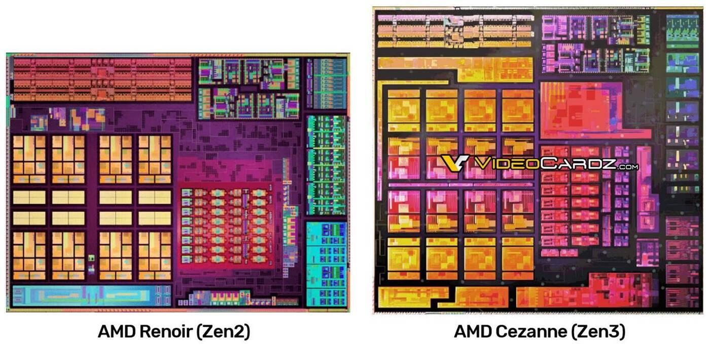 Struktura procesora Ryzen 5000 Cezanne wyciekła