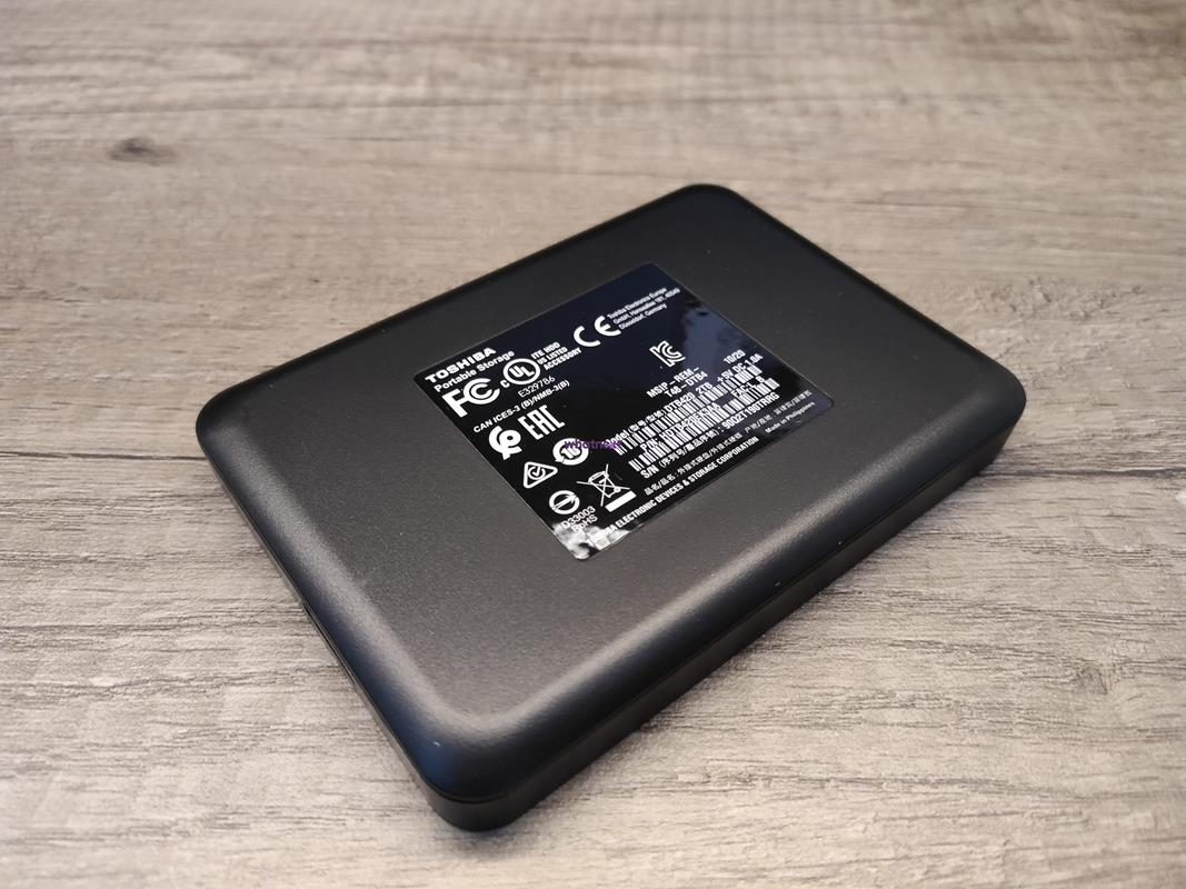 Test Toshiba Canvio Advance i Basics