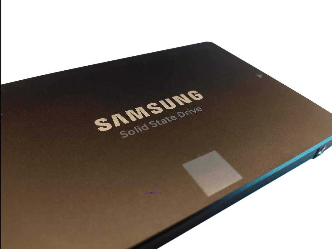 Test Samsung 870 EVO 250 GB na SATA