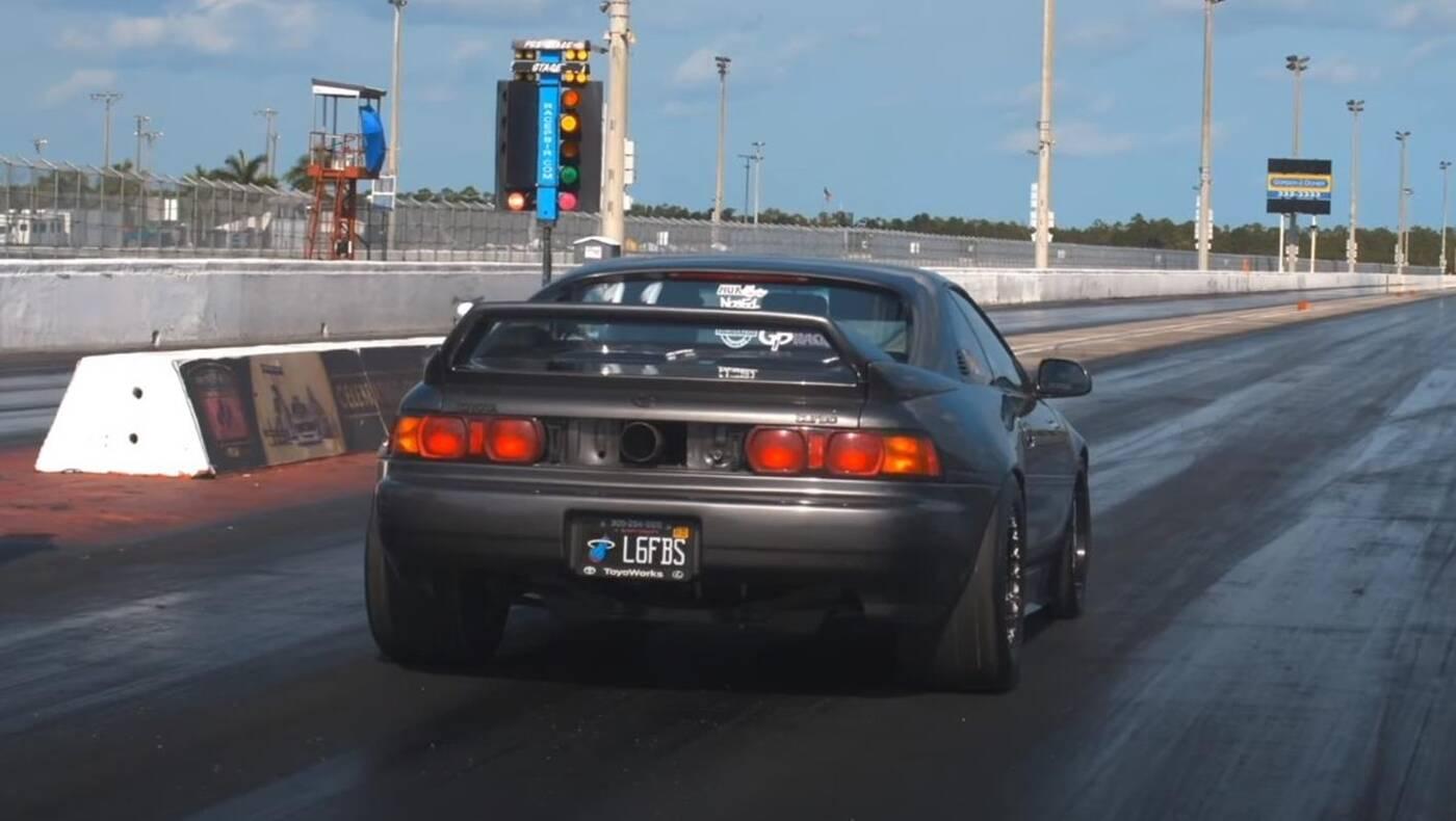 najszybsza Toyota MR2 na świecie, najszybsza Toyota MR2, najszybszy MR2,