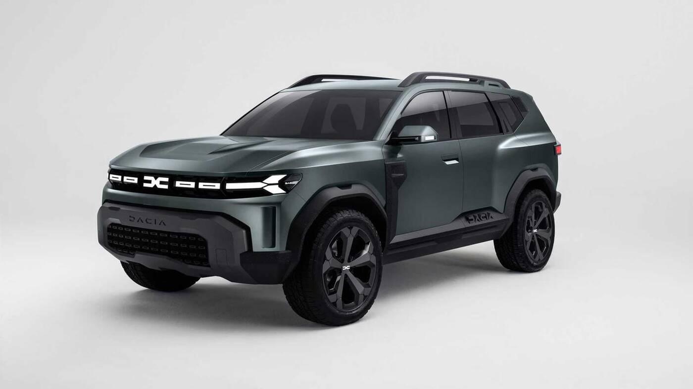Spójrzcie na render SUVa Dacia Bigster 2025