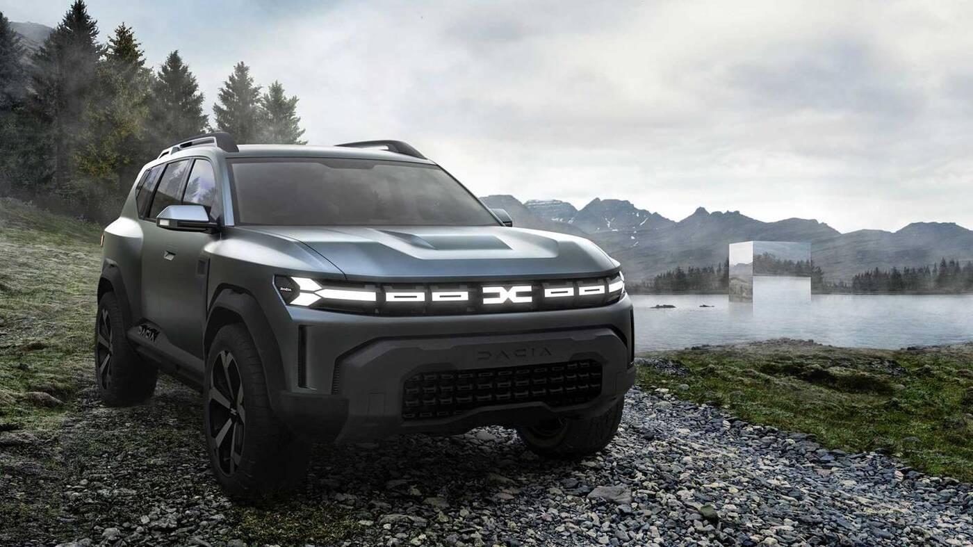 Trzy nowe modele Dacia zapowiedziane. Jest też zwiastun SUVa