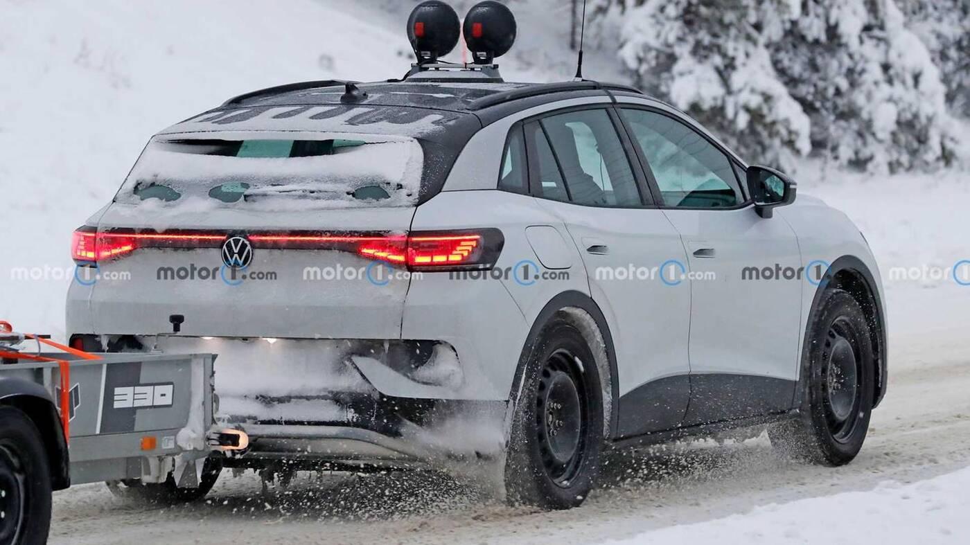 Volkswagen ID.4 GTX wyszpiegowany, Volkswagen ID.4 GTX, ID.4 GTX wyszpiegowany