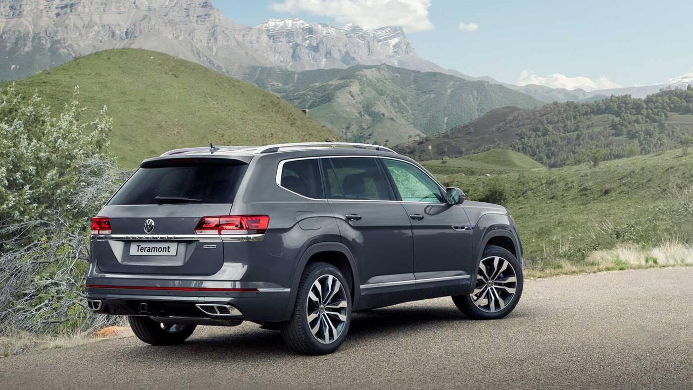 Volkswagen odświeżył swojego rosyjskiego SUVa Teramont