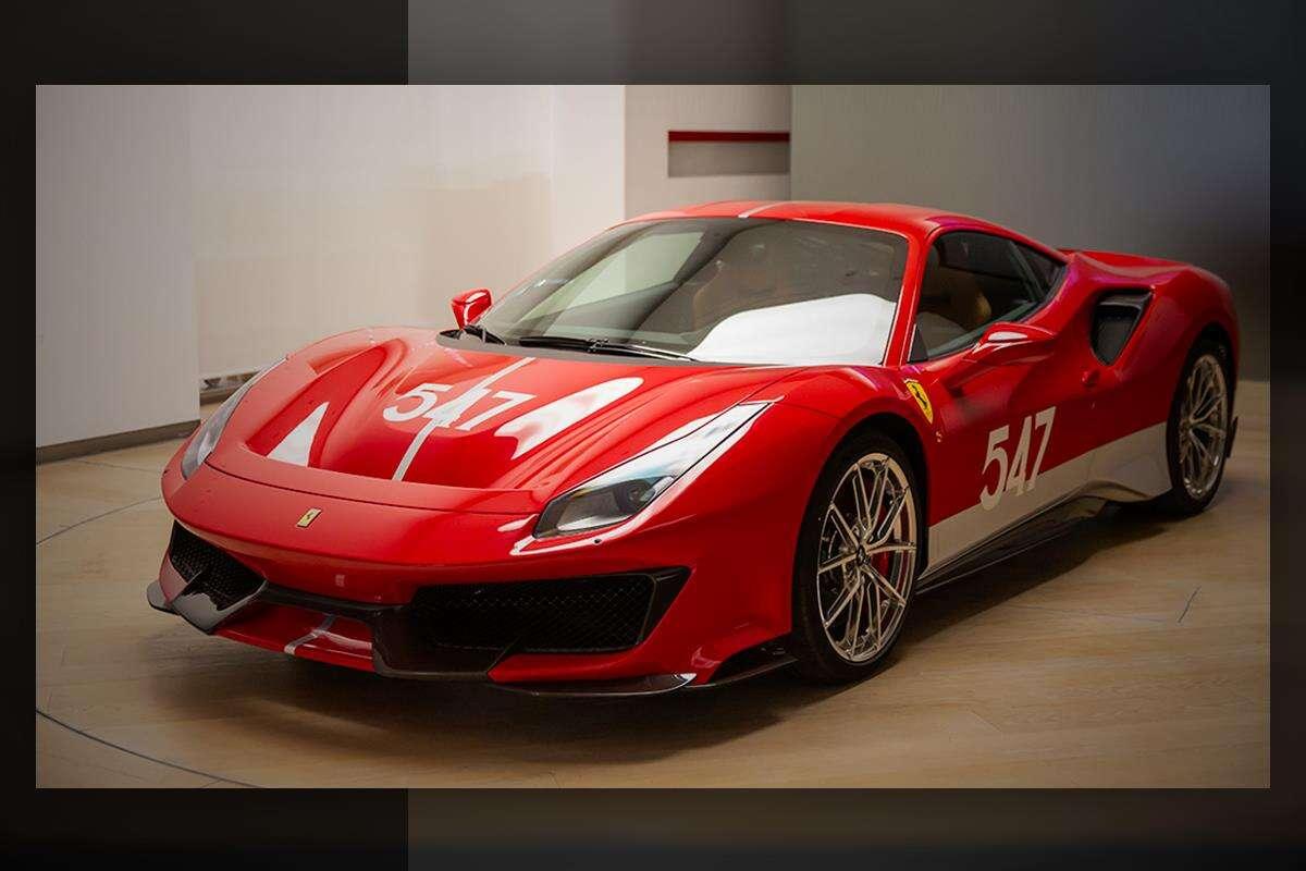 Wyjątkowe Ferrari 488 Pista sięga po wyścigowy sznyt