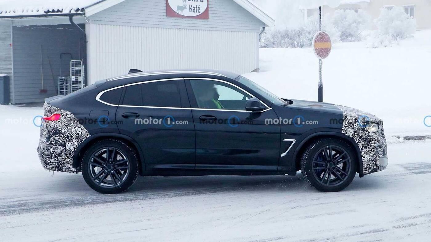 Wyszpiegowano prototyp BMW X4 M 2022