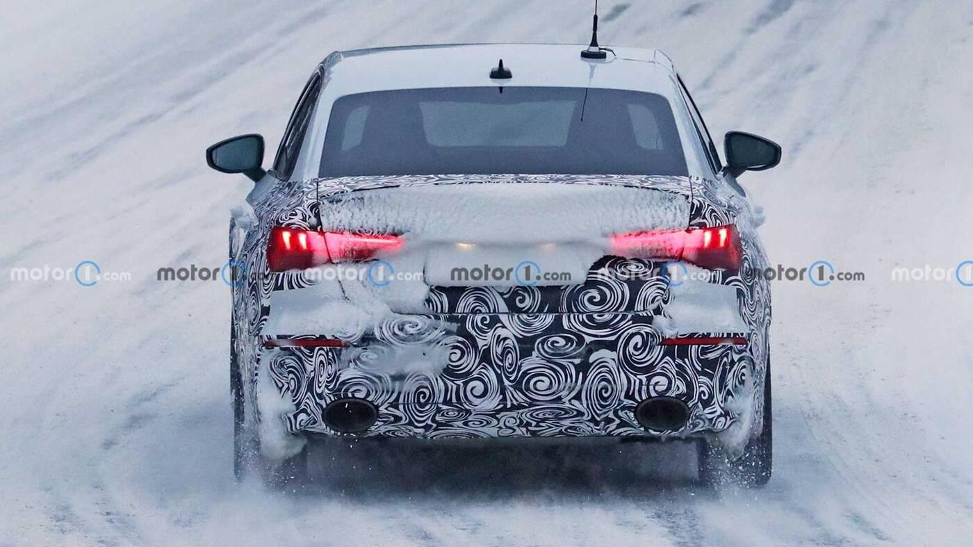 Zdjęcia nowego Audi RS3 Sedan testy, Zdjęcia nowego Audi RS3 Sedan, Zdjęcia Audi RS3 Sedan, nowe Audi RS3, Sedan RS3 2022