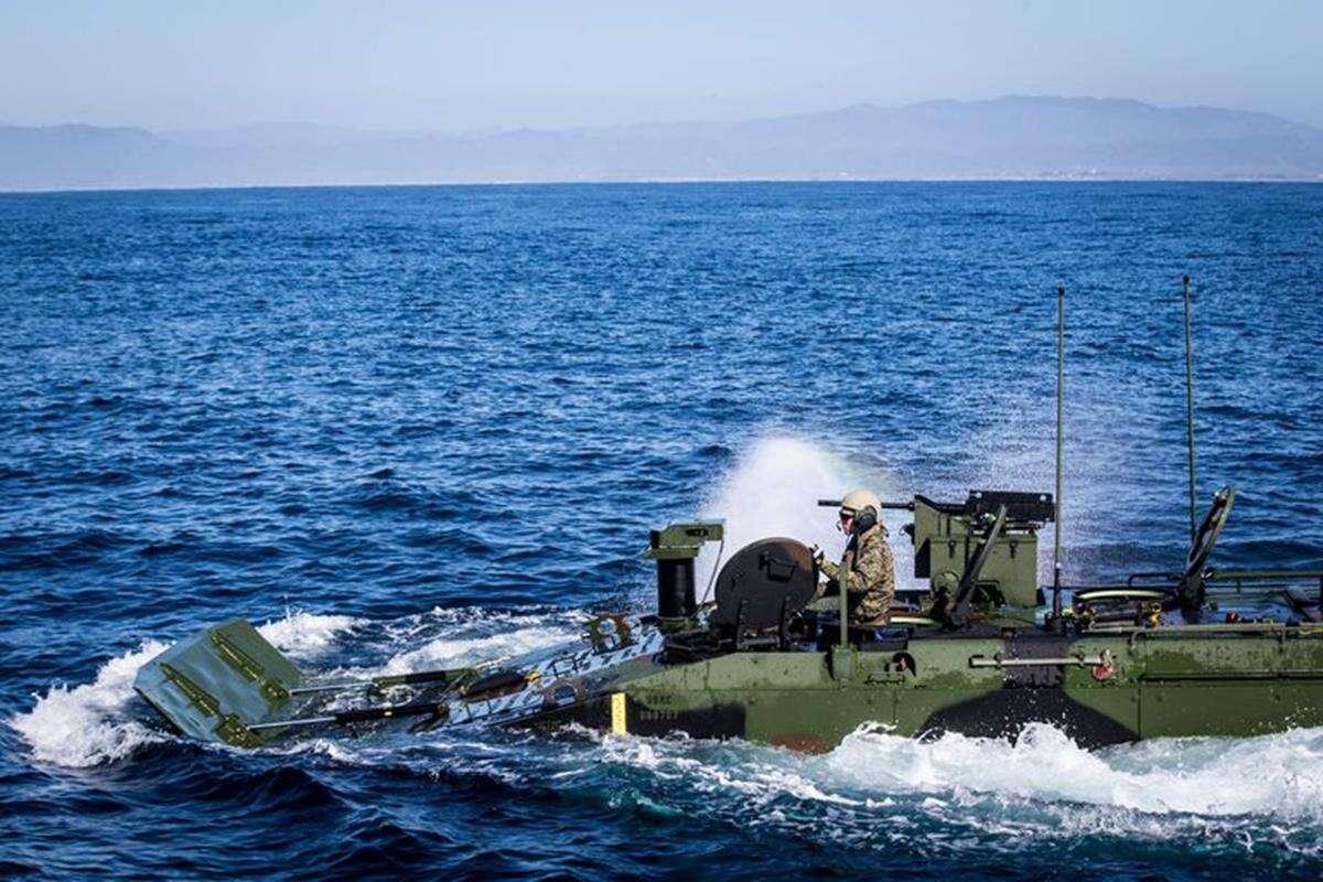 nowy pojazd amerykańskich Marines, pojazd amerykańskich Marines, Marines ACV