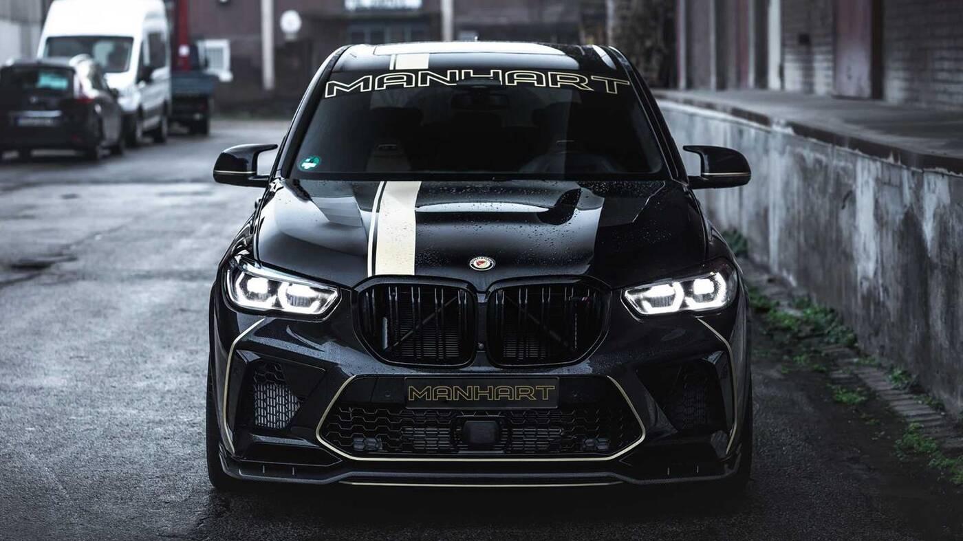 Złoto i moc, czyli tuning BMW X5 M w wykonaniu Manhart