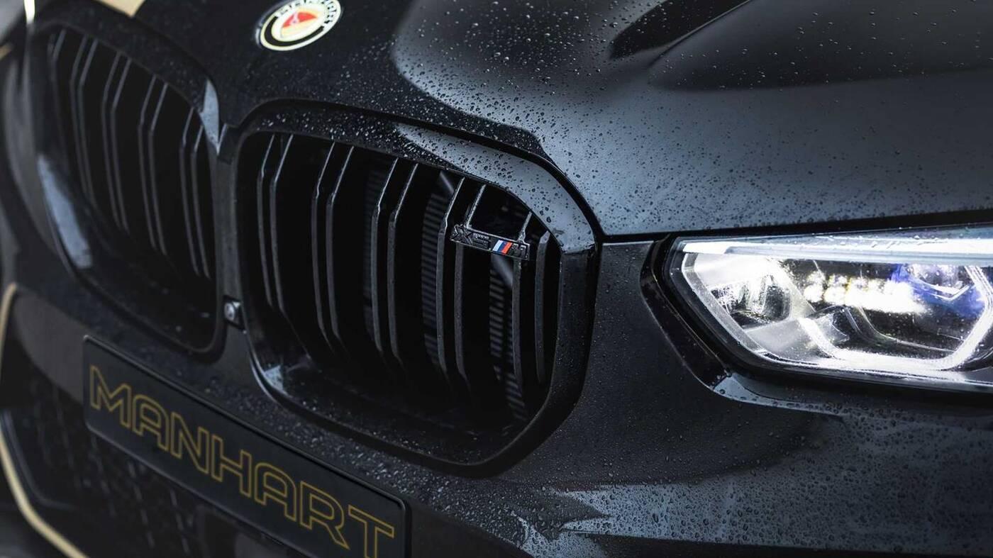 tuning BMW X5 M w wykonaniu Manhart, tuning BMW X5 M, Manhart tuning BMW X5 M