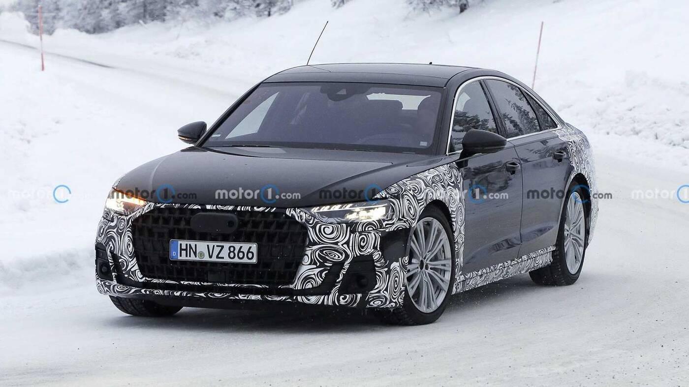 Zobacz zdjęcia testowanego liftingu Audi A8 2022