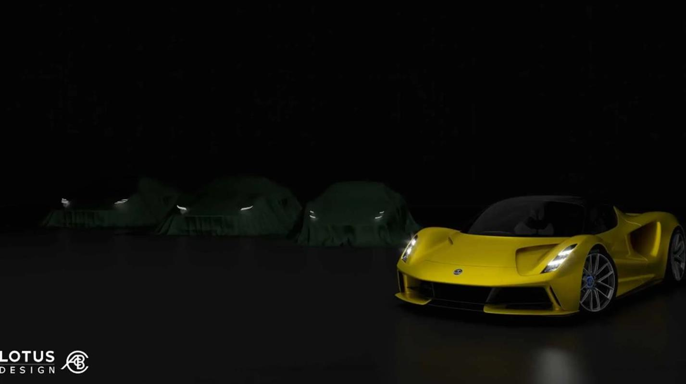 Zwiastun nowego samochodu Lotus, Lotus