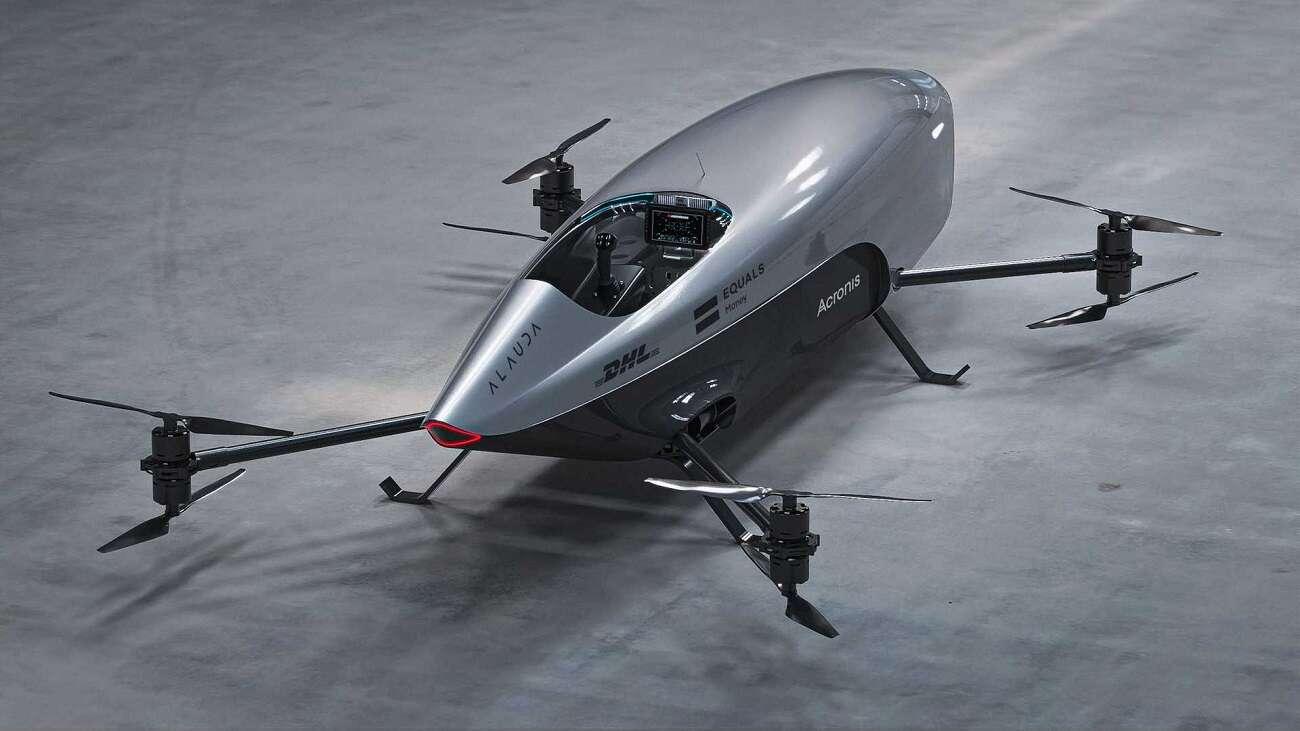samochod latajacy