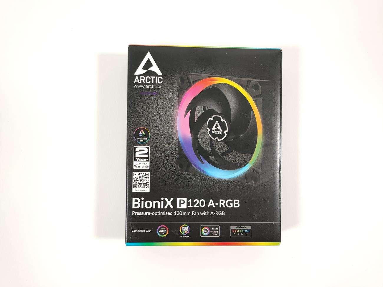 test Arctic BioniX P120 A-RGB, recenzja Arctic BioniX P120 A-RGB, opinia Arctic BioniX P120 A-RGB