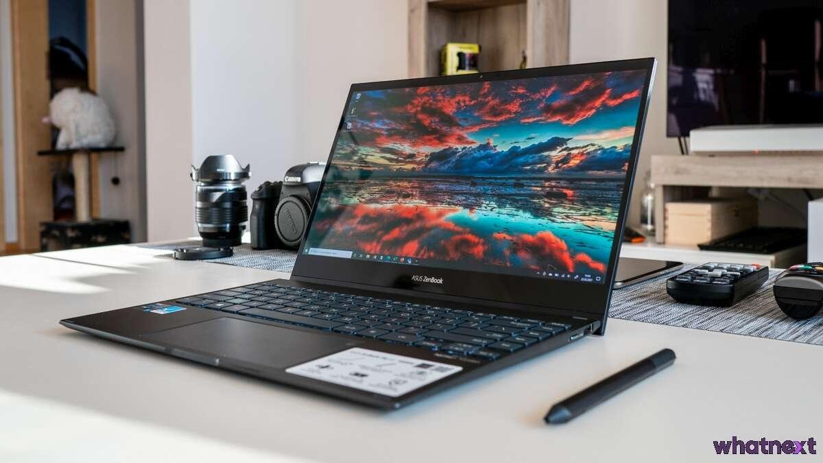Recenzja Asus ZenBook Flip 13. Z OLED-em!