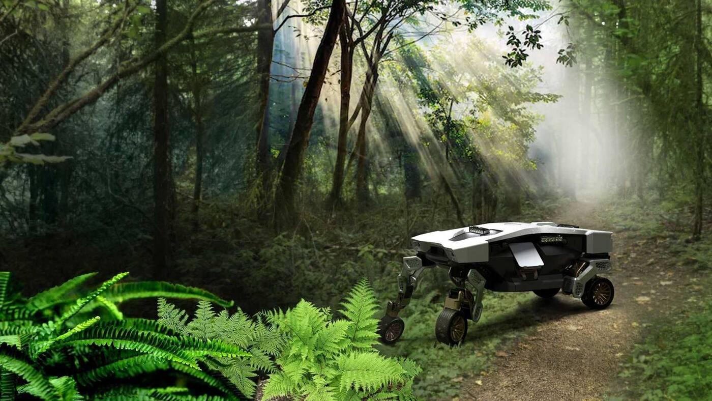 Bezzałogowy Hyundai Tiger X-1, to terenowy samochód przyszłości