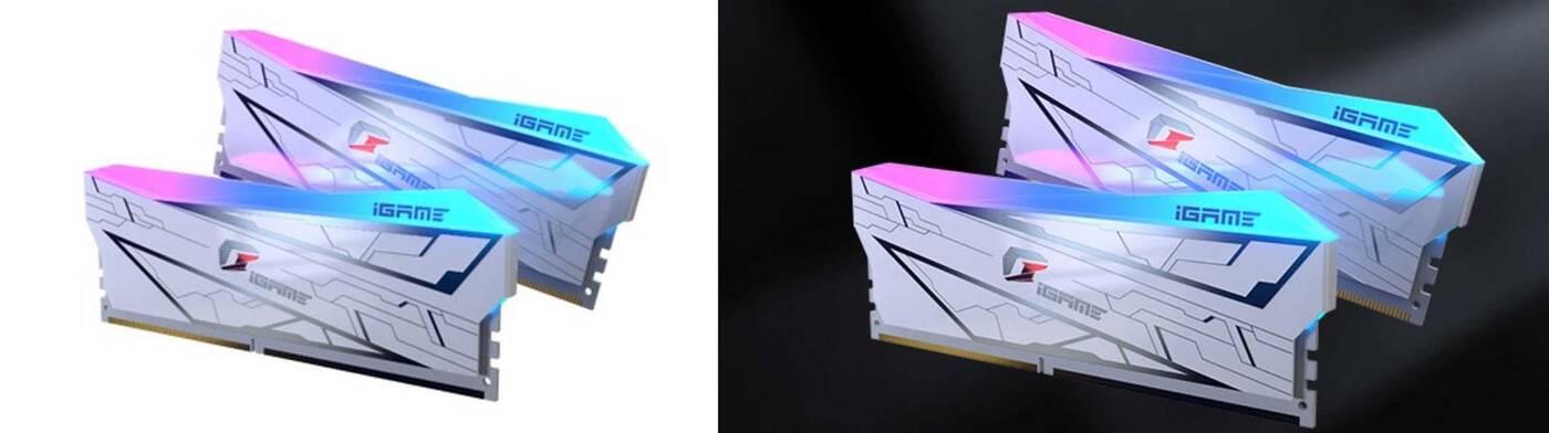 Biel i RGB, czyli nowe pamięci DDR4 iGame Vulcan od Colorful