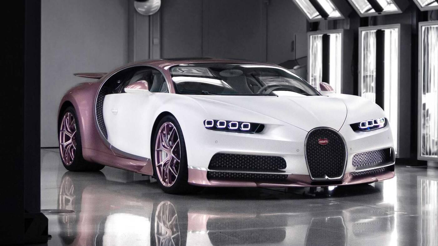 Bugatti Chiron Sport Alice, prezent dla żony, Bugatti Chiron Sport, Bugatti Chiron Alice,