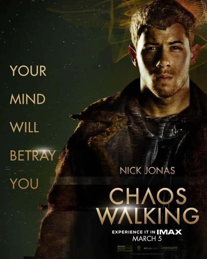 Chaos Walking, Chaos Walking plakaty, Chaos Walking obsada