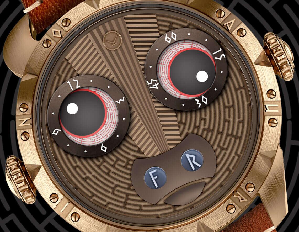 minotaura na nadgarstku, wyjątkowy zegarek, zegarek