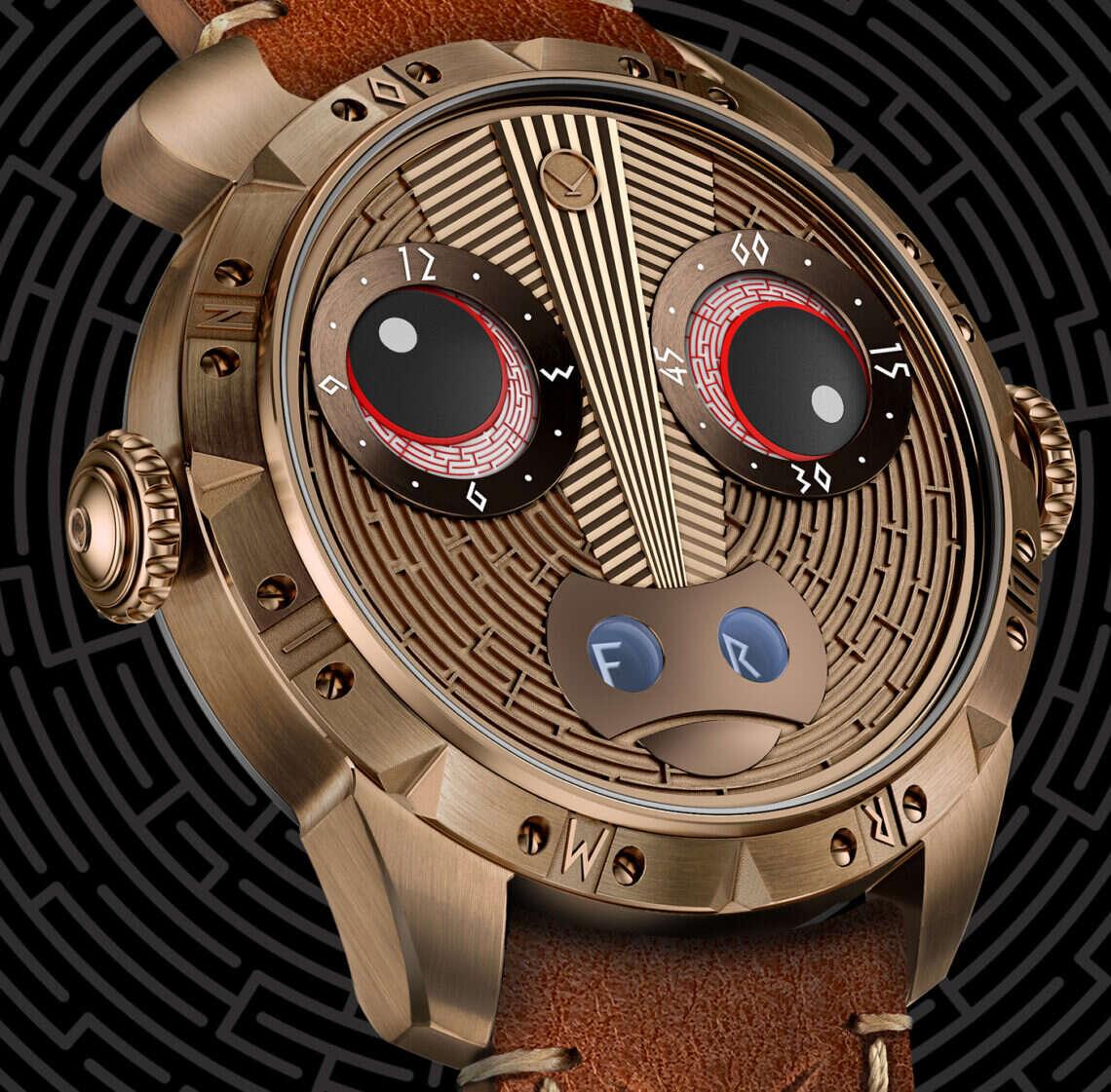 Chętni na minotaura na nadgarstku? Spójrzcie na ten wyjątkowy zegarek