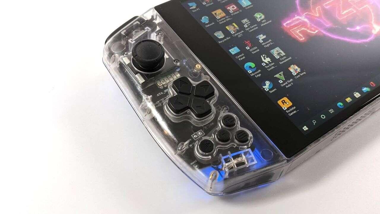 Zasilany sprzętem AMD handheld AYA Neo daje radę nawet z Cyberpunkiem 2077