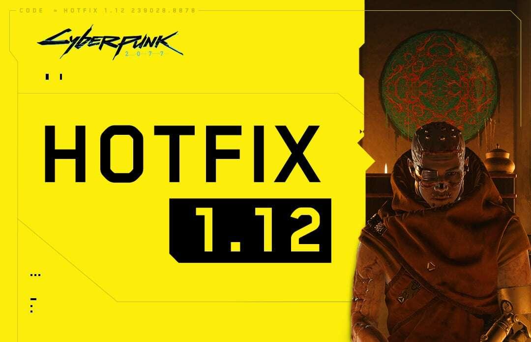 Cyberpunk 2077 – hotfix 1.12 na PC wprowadza poprawki bezpieczeństwa