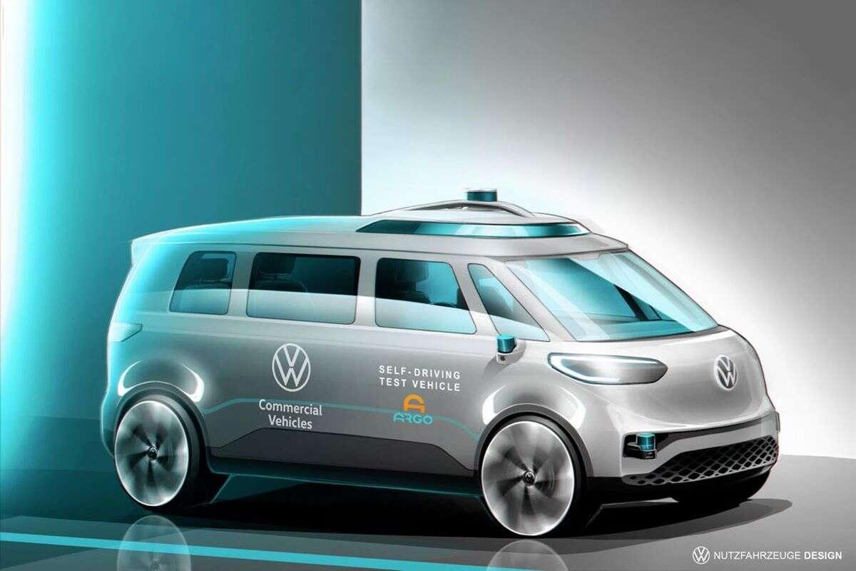 Czyżby tak miał wyglądać Volkswagen ID Buzz?