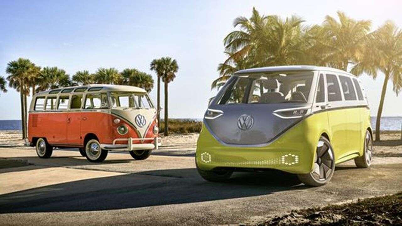 Volkswagen ID Buzz, render Volkswagen ID Buzz, ID Buzz,